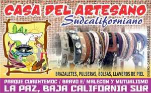 CASA DEL ARTESANO SUDCALIFORNIANO 012 BRAZALETES DE PIEL